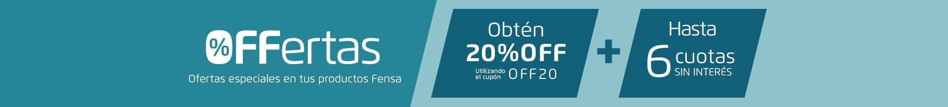 OFFerta 20% - Encimeras