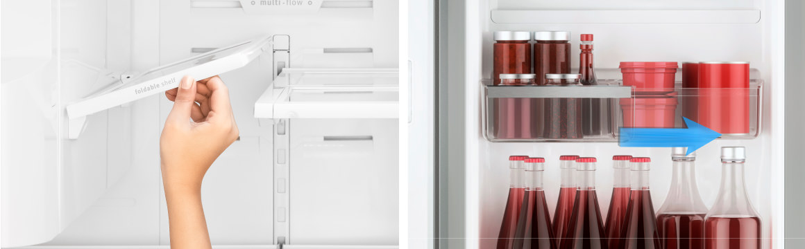 Flexibilidad con el refrigerador Advantage Plus 7790