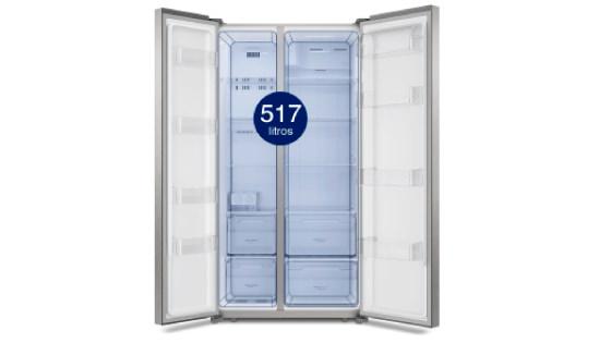 Practicidad para organizar tu vida con el refrigerador Side by Side SFX500