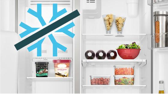 Tecnología Frost Free con el refrigerador Side by Side SFX500