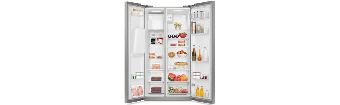 Óptima distribución con el refrigerador Side by Side SFX550