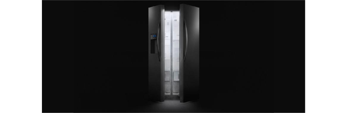 Mejor visibilidad interior con el refrigerador Side by Side SFX550