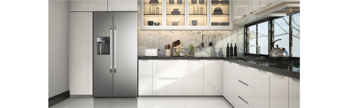 Elegancia y modernidad para tu casa con el refrigerador Side by Side SFX550