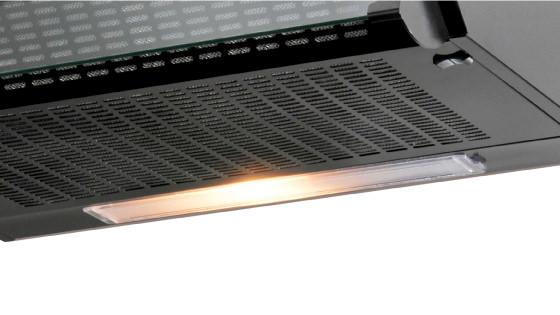 Iluminación con la campana FX U6160