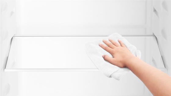 Bandejas de vidrio templado con el Refrigerador Advantage 5700E
