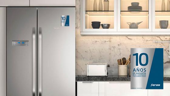 10 años de garantía con el refrigerador Side by Side SFX500